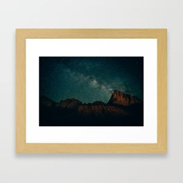 The Watchman Framed Art Print