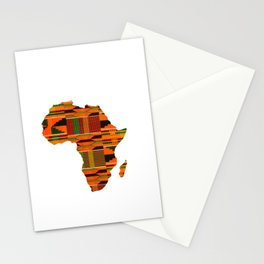 Kente Africa Stationery Cards