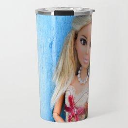 Romantica Blue Travel Mug