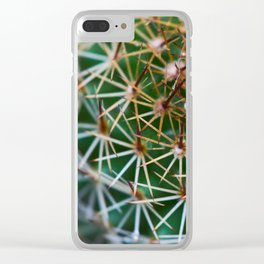 Cactus 3 Clear iPhone Case