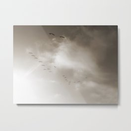 Light Just Ahead Metal Print