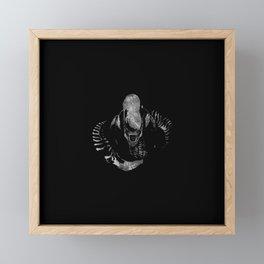 Aliens Here Framed Mini Art Print