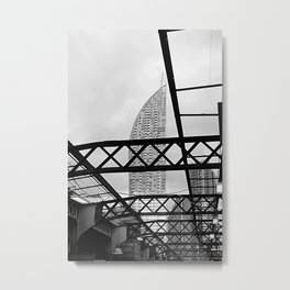 Looking Up At Union Station Metal Print