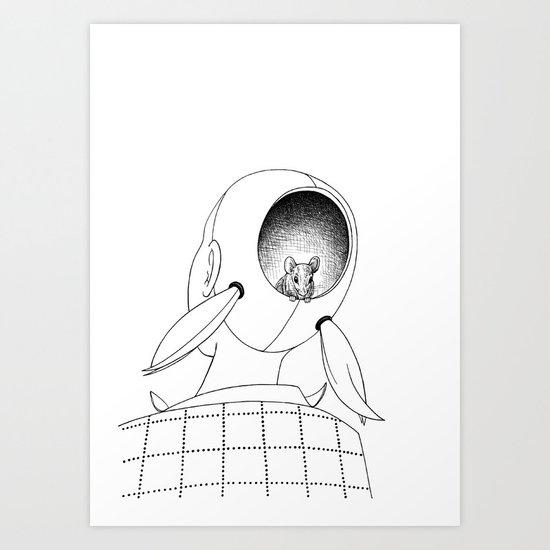 Eep Art Print