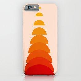 Abstraction_Sunset_Modernism_ART_Minimalism_001 iPhone Case