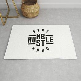 Stay Humble Hustle Hard v2 Rug