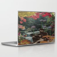 reading Laptop & iPad Skins featuring reading by Eleanor Boersma