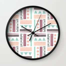 Geometric VII Wall Clock