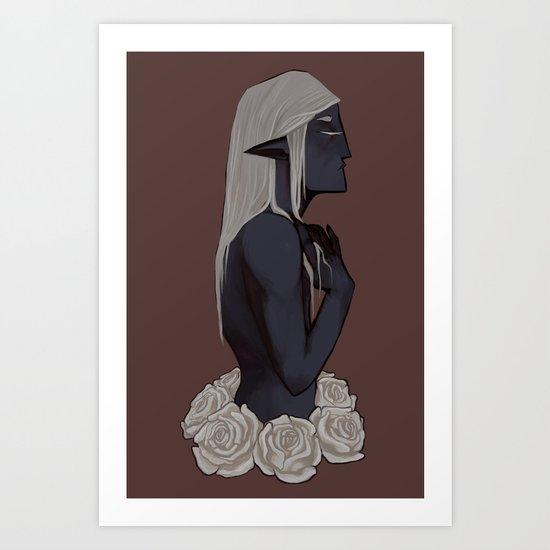 Drow Art Print
