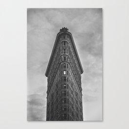 Flat Iron Building - New York Canvas Print