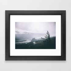 Columbia River Gorge VI Framed Art Print