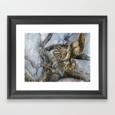 The Hawk and the Nightingale Framed Art Print