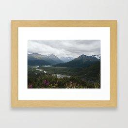 Kenai Fjords Framed Art Print