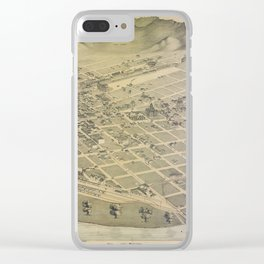 El Paso 1886 Clear iPhone Case