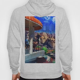 ancestral face Hoody
