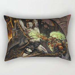 Toxic War by BAXA Rectangular Pillow