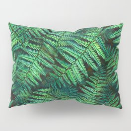 Among the Fern in the Forest Pillow Sham