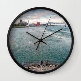 Broad View Wall Clock