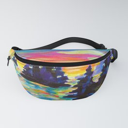 Landscape With Saucers Fanny Pack