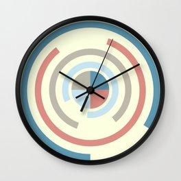 Colorful Circles V Wall Clock