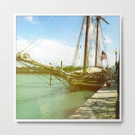 Ahoy, Matey, Chicago, 2011 Metal Print