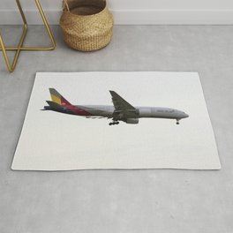 Asiana Airlines Boeing 777 Rug