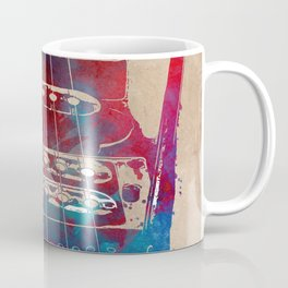 Guitar art 12 #guitar #music Coffee Mug