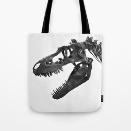 Tyrannosaurus Rex Skeleton Tote Bag