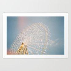 Sky Wheel Art Print