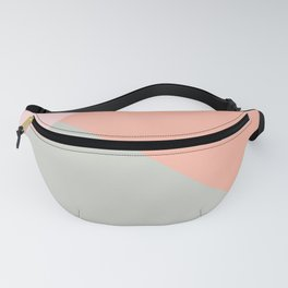 Cool modern pastel colors abstract pattern Fanny Pack