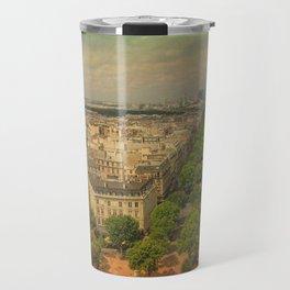 Avenue De Champs Elysees in Paris Travel Mug