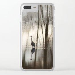 The Bayou. Clear iPhone Case