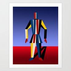 TIN SOLDIER Art Print