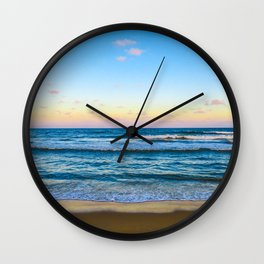 Rolling Waves Wall Clock