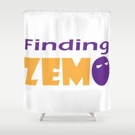 Finding Zemo Shower Curtain