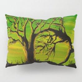 The BIG Escape - Psychedelic Tree Art Pillow Sham