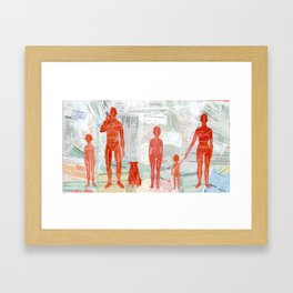 Bullshit Conditions Framed Art Print