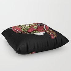 ramen dragon Floor Pillow