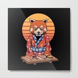 Rad Panda Metal Print