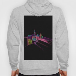 Vibrant City Art 44 Hoody