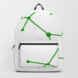 Gemini (Green & White) Backpack