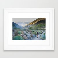 onward Framed Art Prints featuring Onward by Kim Ramage