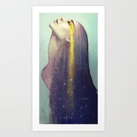 constellation Art Prints featuring Constellation by Anna Dittmann