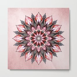 Passion Mandala Metal Print