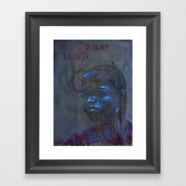 Don't Forget Haiti Framed Art Print