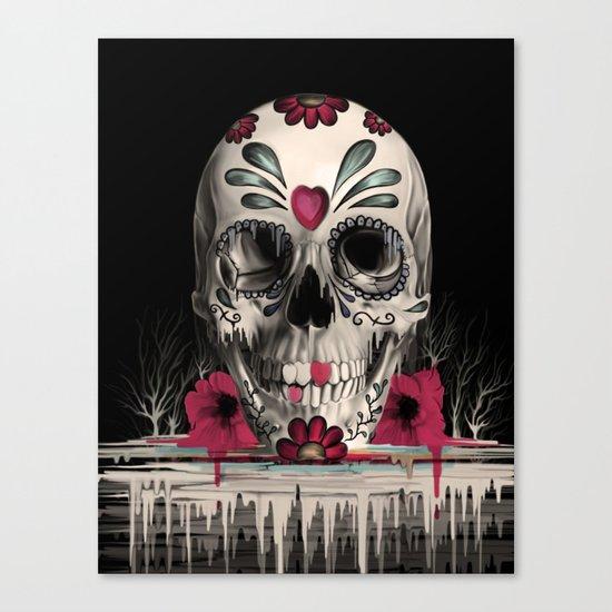 Pulled Sugar Canvas Print