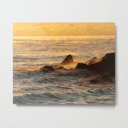 Jersey Shore Sunrise Metal Print