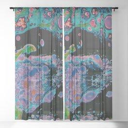 Bursting with Feeling Sheer Curtain