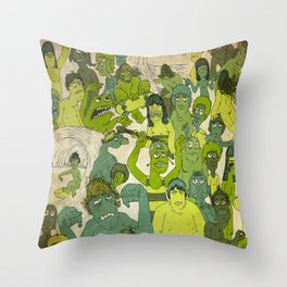 Party Hardy Throw Pillow