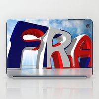 france iPad Cases featuring France by Carlo Toffolo